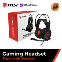 msi headset gaming ds502 ds 502 no hyper X zowie sades fps cs dota