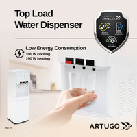 Top-Load Water Dispenser ARTUGO AD 20 (Botton UV / Sterilizer)