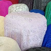 Bahan/kain BROKAT GARMEN limited edisi part2 - soft ungu
