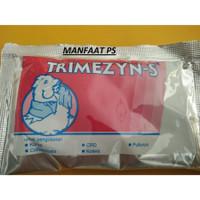 TRIMEZYN-S/SERBUK 10 GR (ANTIBIOTIK UNGGAS)
