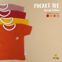 Twin Tiger Baby - Baju Kaos anak baju baby - Pocket Tee Imlek - SNI