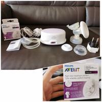 AVENT Natural Breast Pump Single Electric Pompa ASI Preloved BONUS