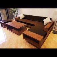 Kursi Tamu Jati - Sofa Sudut Minimalis