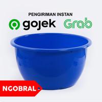 Baskom Plastik Besar BIRU Diameter 55 cm / Ember Bak Plastik NGOBRAL