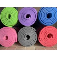 Premium TEBEL Matras Yoga Mat 10mm x 63cm x 183cm Senam Matt Pilates - MATRAS YOGA