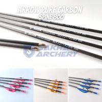 Anak Panah Arrow Musen Pure Carbon Spine 800 - MSTJ-42BS