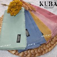 Hijab Saudia Rawis Polos Hijab Segi Empat Umama Saudia Kuba Project - Soft Lavender