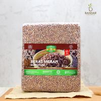 Beras Sorghum Merah 1kg / Red Sorghum Rice - Sorghum Foods - Utuh