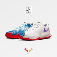 Sepatu Tenis Tennis Nike Air Zoom VPR Cage 4 White Blue Rafa Ori