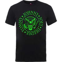Kaos Baju Tshirt Band RAMONES Official Ori Gildan Softstyle Green Seal