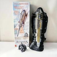 Senjata assasin cosplay properti assassins creed pirates hidden blade