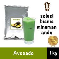 Avocado flavor drink powder. bahan minuman bubuk. kualitas bagus