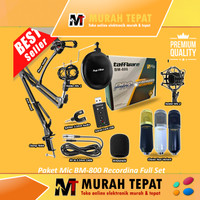 Paket Full Set BM-800 Ready Recording with Arm Stand Acc