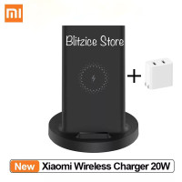 Xiaomi Wireless Charger 20W Stand Qi Fast Charging Vertical Horizontal