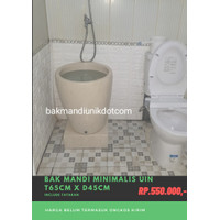 Bak mandi minimalis uin-bak mandi teraso