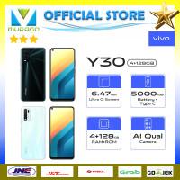 VIVO Y30 4/128 GARANSI RESMI - Moonstone White