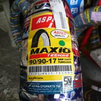 Aspira MAXIO TECHNO 90/90 ring 17 ban tubeless motor jupiter mx vixion