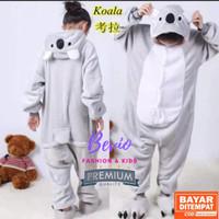 Kostum Koala Anak Lucu Impor Baju Tidur Onesie Piyama Animal Binatang