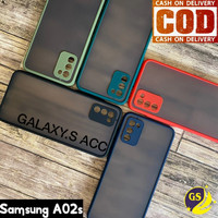 SAMSUNG A02s A02 S 2021 SOFT CASE DOVE MATTE ARMOR COLORED FROSTED
