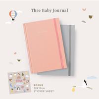 Baby Journal / Buku Journal Bayi Thre Design