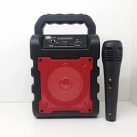 speaker bluetooth+Mic untuk karaoke