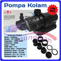 Pompa Air Power Head Kolam YAMANO AC - T16000 ACT 16000 Low watt