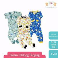 LB026 Libby Setelan Baju Oblong Celana Panjang L XL XXL Piyama Baju Ti