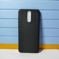 Softcase Slim Black Matte - Mate Silikon Case Huawei Nova 2i