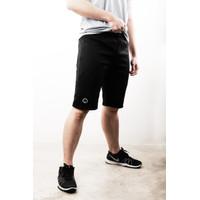 Celana Olahraga Lari Gym Fitness Training - Origin Active Short Jogger - S, Hitam
