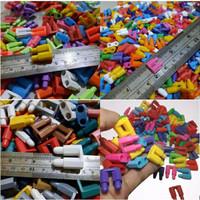 LEGO PELURU MINISET HEXAGONAL 500 GRAM MAINAN ANAK JADUL - Biasa