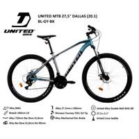 Sepeda Gunung MTB United Dallas 27,5 inch termurah SNI murah alloy NEW