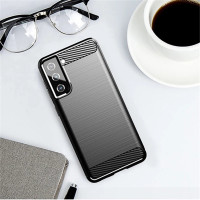 Casing Samsung Galaxy S21 S 21 Soft Case Carbon Accent Texture Cover