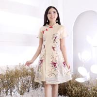 Dress batik modern cheongsam modern baju imlek