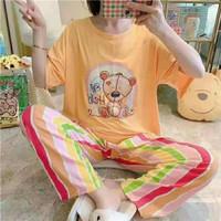 Piyama Import 611 Baju Tidur Panjang Anak Perempuan Remaja Wanita