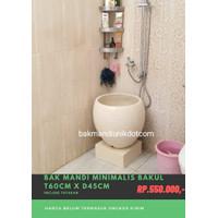Bak mandi minimalis bakul-bak mandi teraso