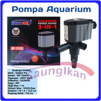 Pompa Air Power Head Aquarium Aquascape SAKKAI PRO WP 1200K WP1200K