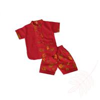 Baju Setelan imlek cheongsam Xipao cina anak laki laki