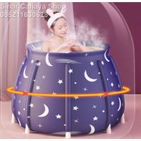 Bak Mandi Lipat / Bak Rendam / Bathtub lipat Portable / Bak Portable