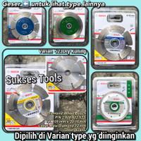 100% Bosch Diamond Wheel 4 Mata Gerinda Potong Keramik Marmer Granit