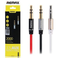 REMAX Aux Audio Kabel 2 Meter RL-L200 Cable 3.5mm Jack 100% ORIGINAL