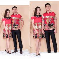 BM - Set Batik Couple Baju Pasangan Imlek CNY Lunar PCF