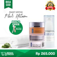 Ertos Paket Flek Hitam 3in1/Dark Spot Serum, Astaxanthine, Night Cream