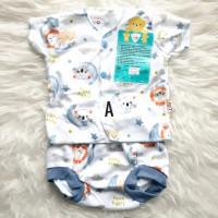 Baju Bayi Setelan Pendek Libby 3-6 bulan