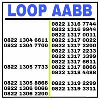 Nomor Cantik simPATI LOOP AABB