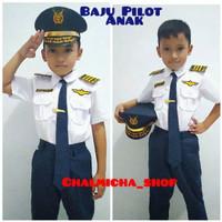 Baju Kostum Karnaval Profesi Pilot Anak
