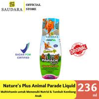 NATURE'S PLUS ANIMAL PARADE LIQUID 236 ML