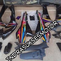cover full body halus kasar motor Honda Supra x lama 2004-2005