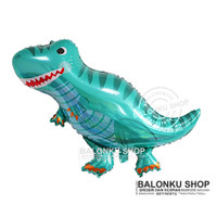 Balon Foil Dinosaurus Jumbo / Balon Karakter Tyrex Tosca / Balon Dino