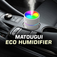 Ultrasonic Humidifier Diffuser Aromatherapy in Home & Car