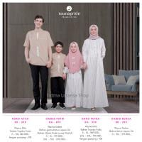 sarimbit keluarga rauna rk kk ra ka 295 / gamis couple / baju muslim